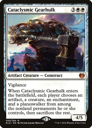Cataclysmic Gearhulk [Kaladesh] | The Game Chamber