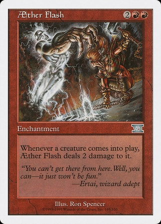 Aether Flash [Classic Sixth Edition] | The Game Chamber