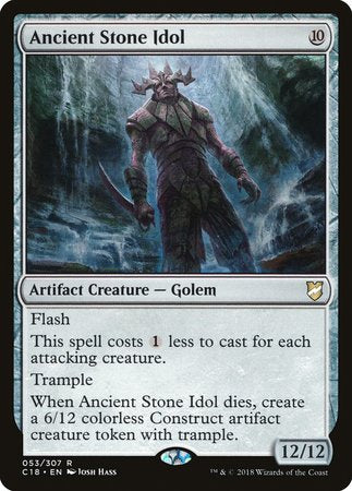 Ancient Stone Idol [Commander 2018] | The Game Chamber