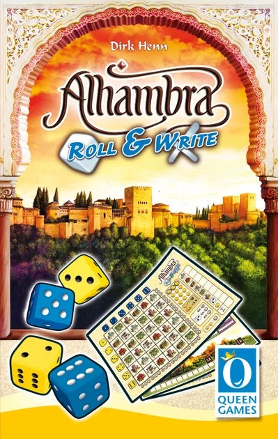 Alhambra Roll & Write | The Game Chamber
