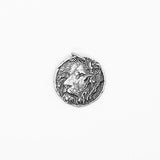 .925 Sterling Silver Lions Head Pendant | Invicta London