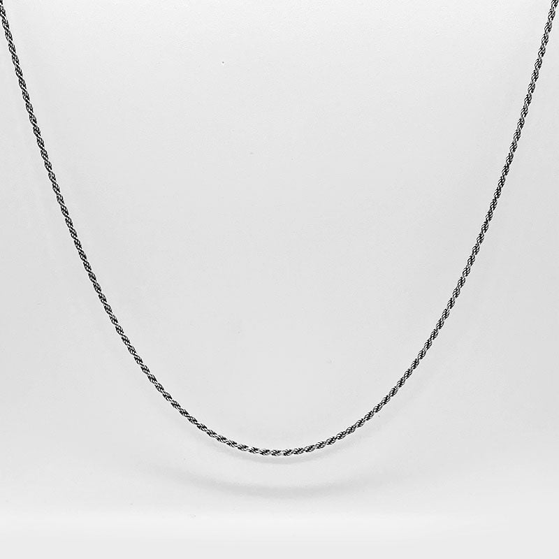 .925 Sterling Silver Rope Chain | Invicta London