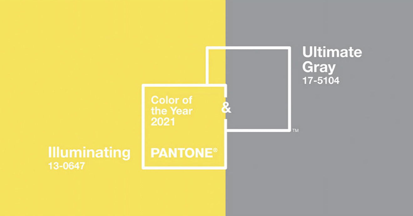 Colour of the year 2021 Graphic