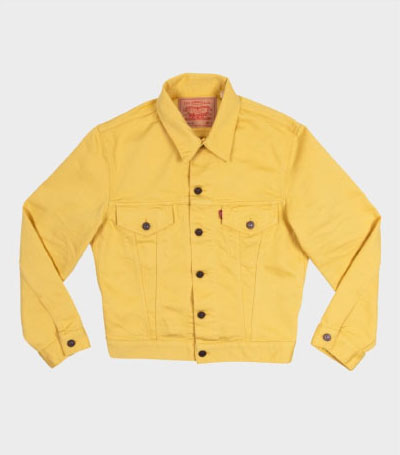 Levi's Vintage Clothing 60S 941B Trucker Jacket - Pampas Yellow