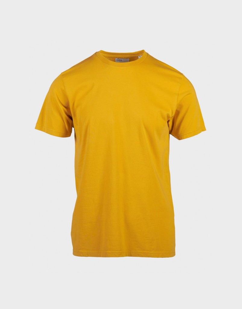 Colorful Standard Classic Organic Tee - Burned Yellow - The 5th
