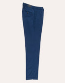 Four Ten Industry T9102 Cotton Linen Blend Trouser - Navy