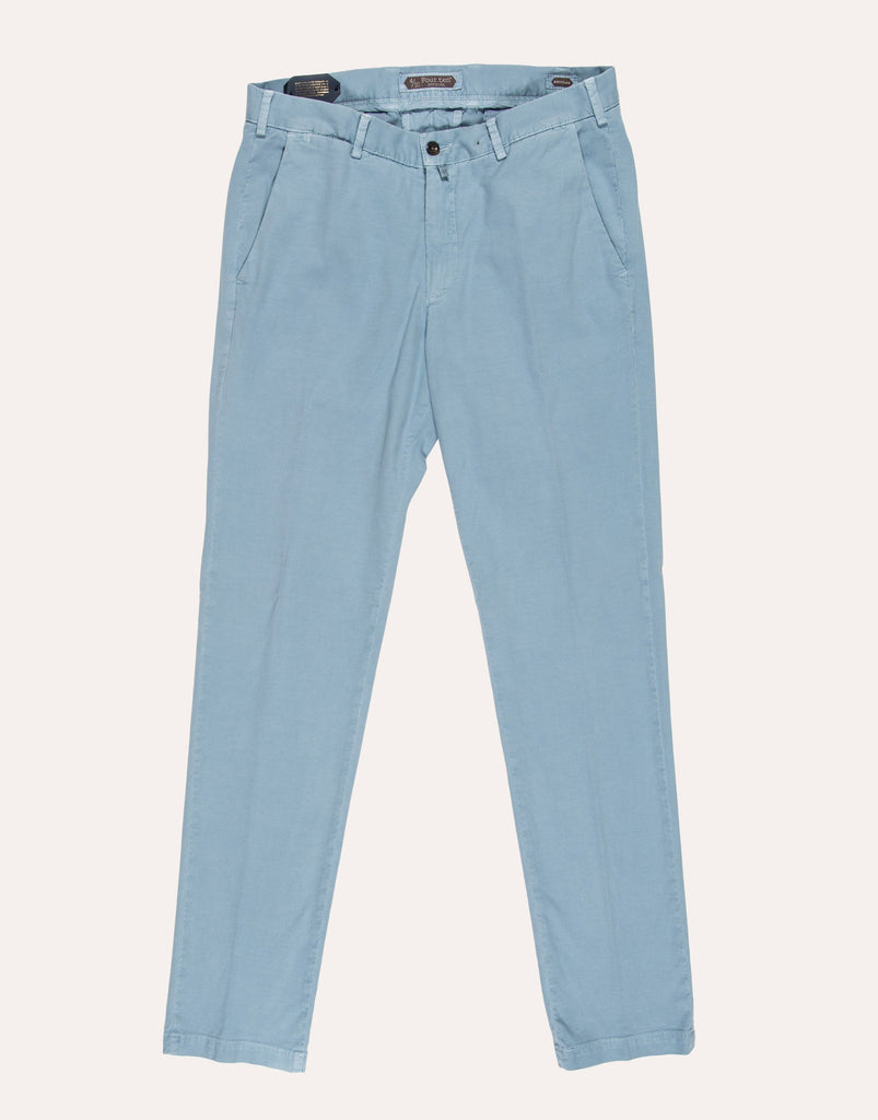Four Ten Industry T926 Cotton Twill Trouser - Light Blue