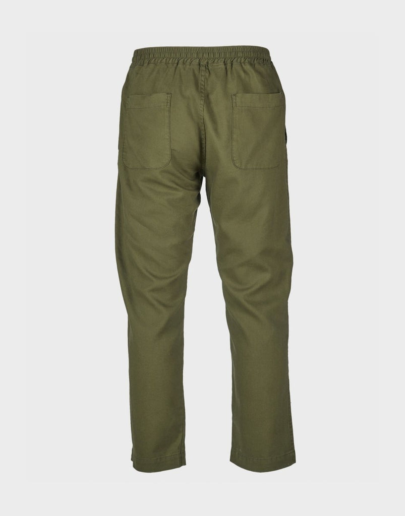 Fujito Line Easy Pants - Olive Green - The 5th