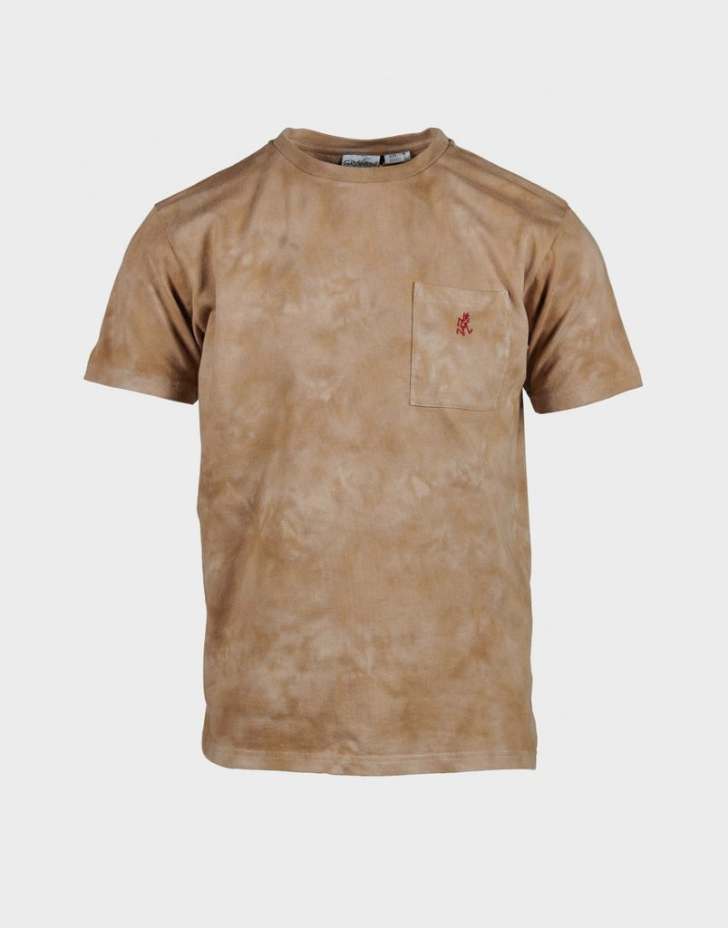 Gramicci Tie Dye One Point Tee - Beige - The 5th
