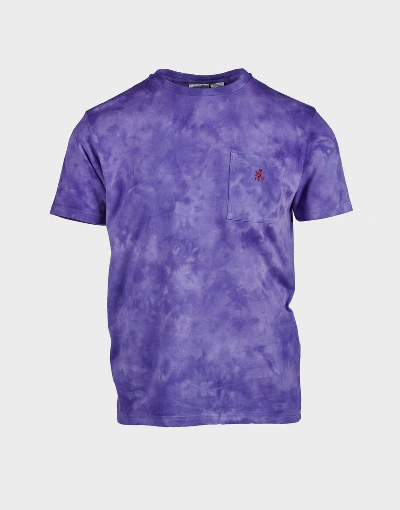 Gramicci Tie Dye One Point Tee - Purple - The 5th