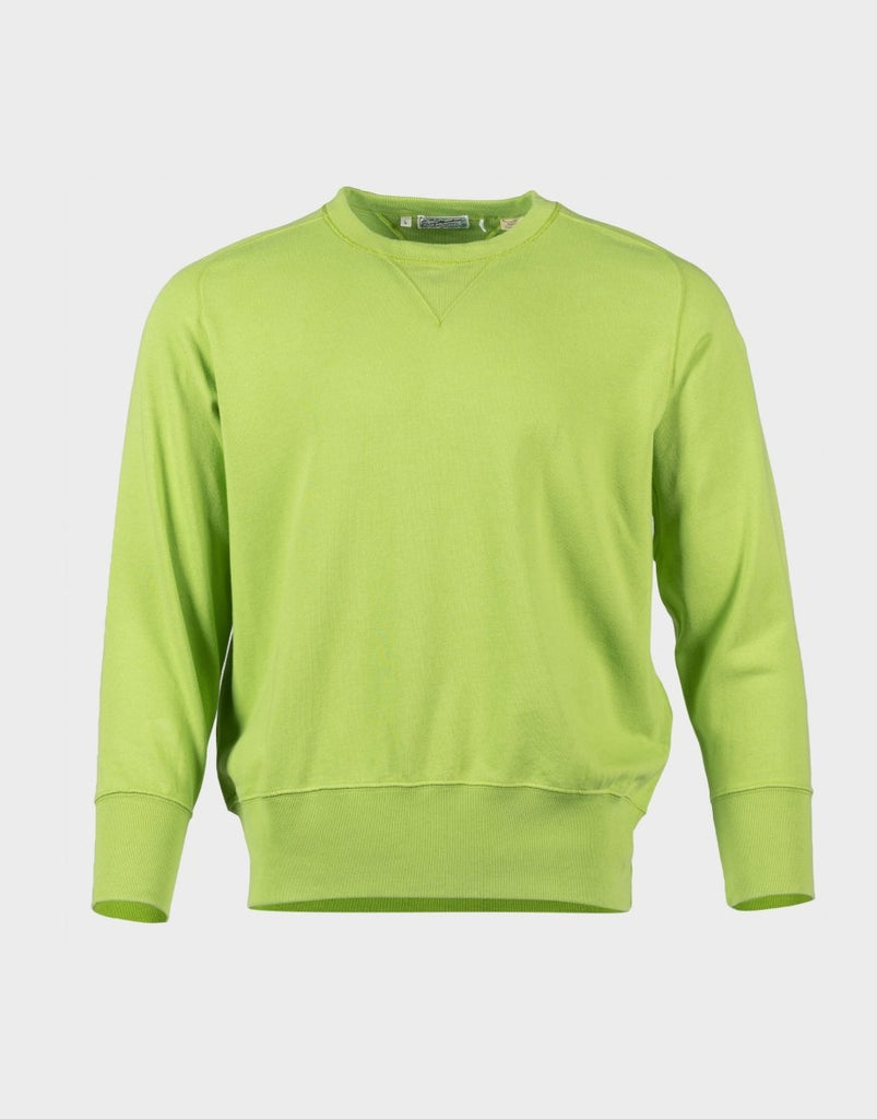 Levi's Vintage Clothing Bay Meadows Sweatshirt - Acid Green - The 5th