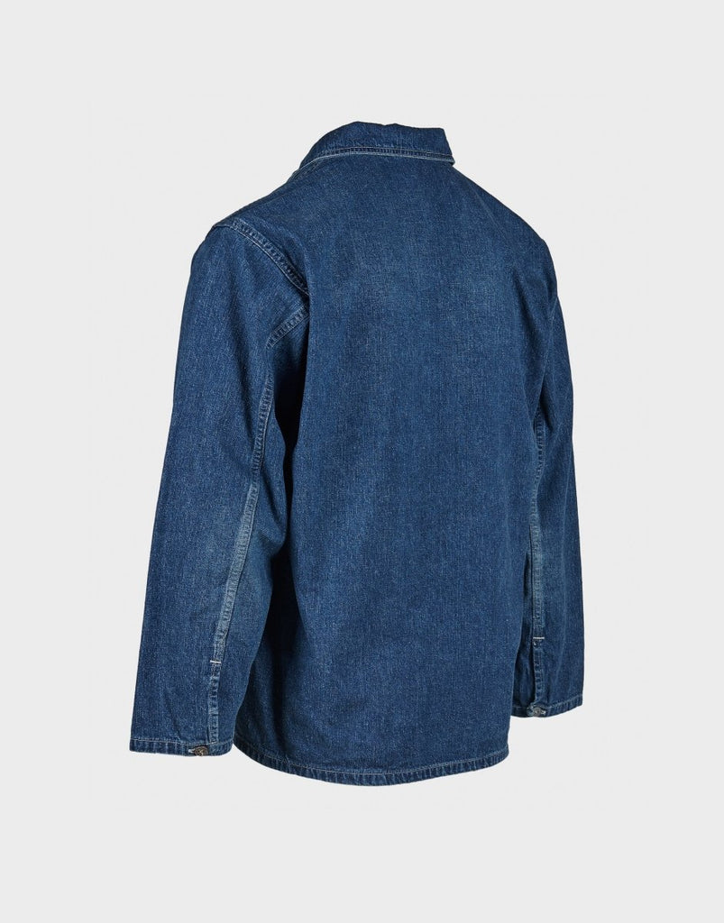 orSlow PW Pullover Denim Shirt Jacket - Blue - The 5th