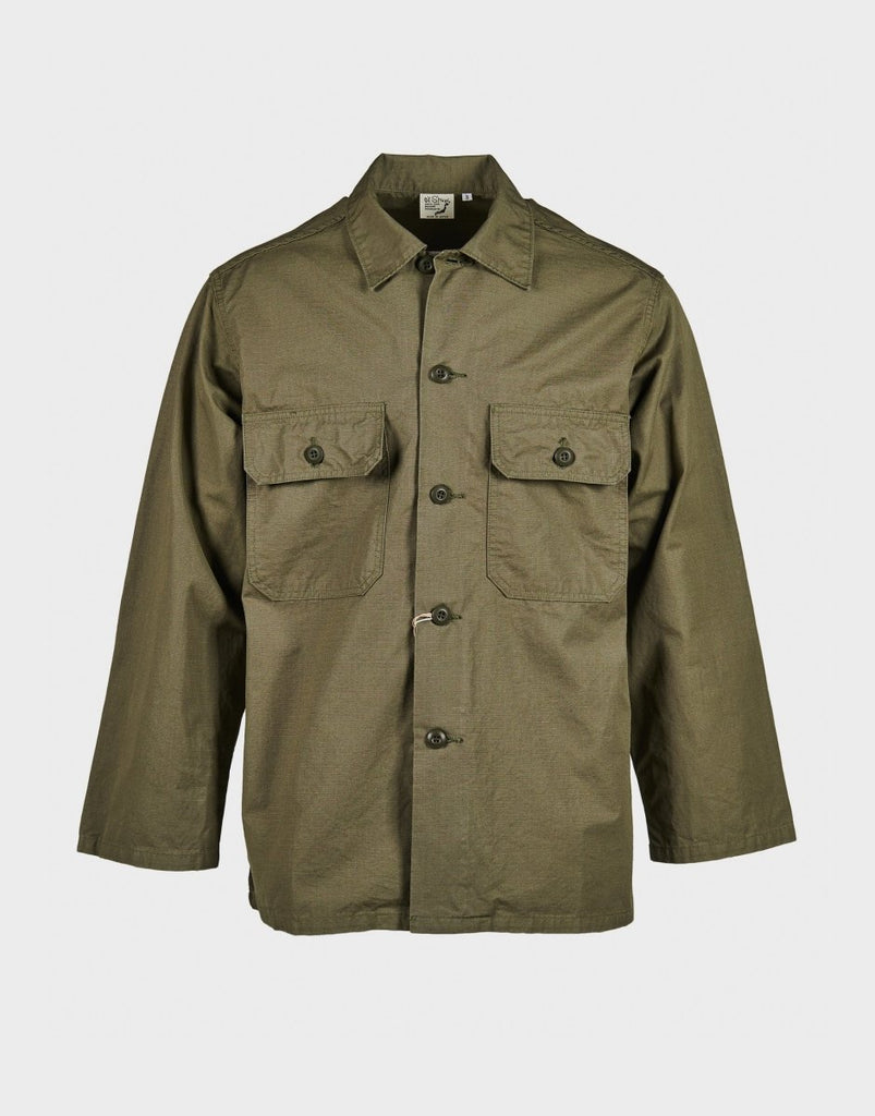 orSlow Trooper Fatigue Shirt Jacket - Army Green - The 5th
