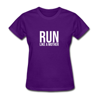 Run Like A Mother - purple