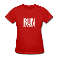 Run Like A Mother - red