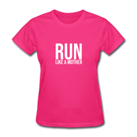 Run Like A Mother - fuchsia