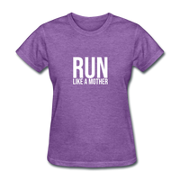 Run Like A Mother - purple heather