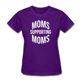 Moms Supporting Moms - purple