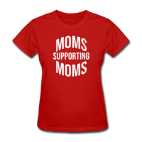 Moms Supporting Moms - red