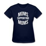 Moms Supporting Moms - navy