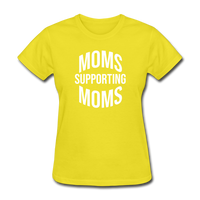 Moms Supporting Moms - yellow