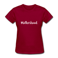 Motherhood - dark red