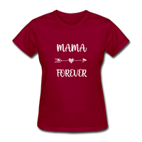 Mama Forever - dark red