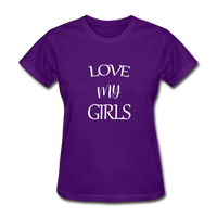 Love My Girls - purple