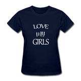 Love My Girls - navy