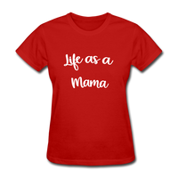 Life As A Mama - red