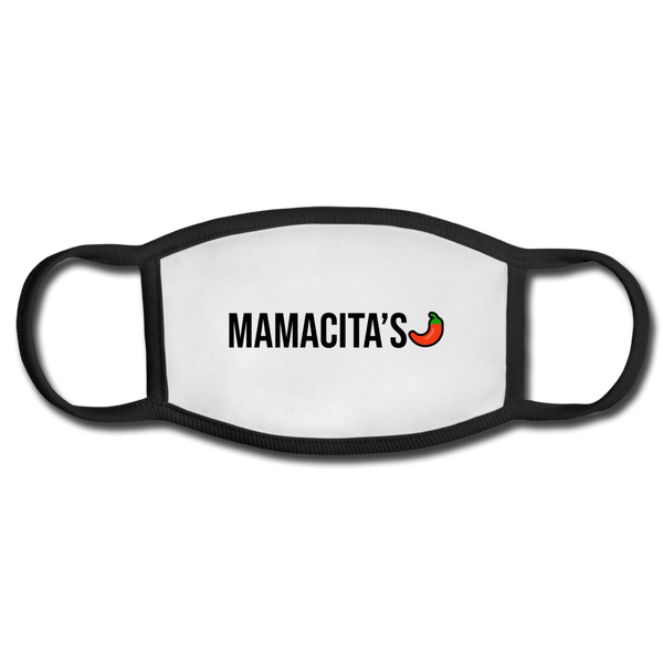 Mamacita's Face Mask - white/black