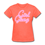 Girl Gang - heather coral
