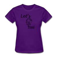 Let's Travel - purple