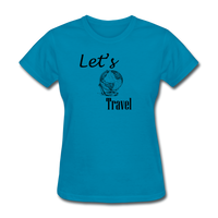 Let's Travel - turquoise
