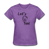 Let's Travel - purple heather