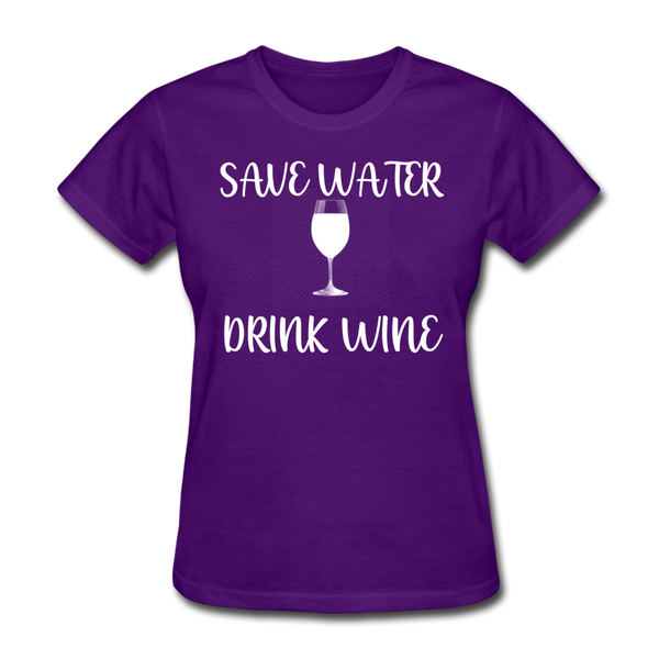 Save Water (White) - purple
