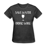 Save Water (White) - heather black