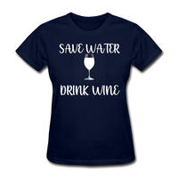 Save Water (White) - navy
