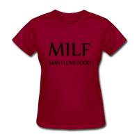 MILF - dark red