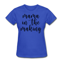 Mama In The Making - royal blue