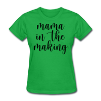 Mama In The Making - bright green