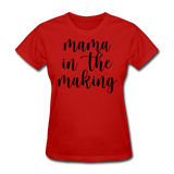 Mama In The Making - red