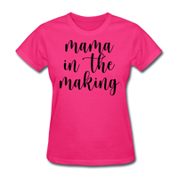 Mama In The Making - fuchsia