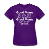 Good Moms, Great Moms - purple
