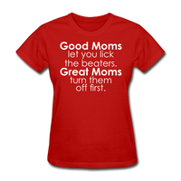 Good Moms, Great Moms - red