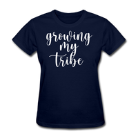 Growing My Tribe - navy
