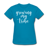 Growing My Tribe - turquoise