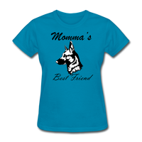 Momma's Best Friend - turquoise