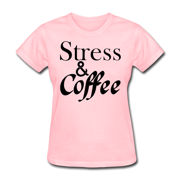 Stress & Coffee - pink