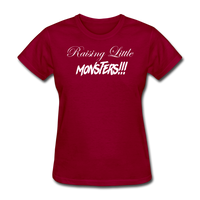 Raising Little Monsters!!! - dark red